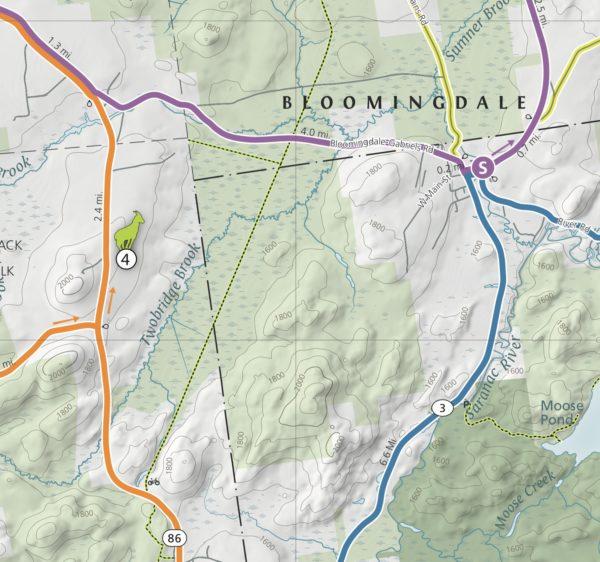 156790b894b8f Lake Placid & Saranac Lake Cycling Map (Wholesale)